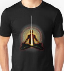 receiving light (meditator) Unisex T-Shirt
