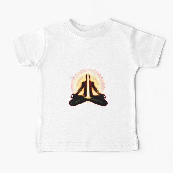 receiving light (meditator) Baby T-Shirt