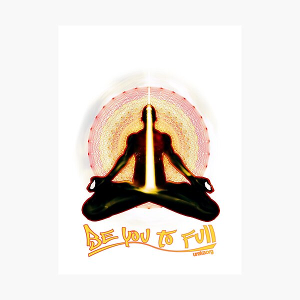 meditator - beyoutofull Photographic Print