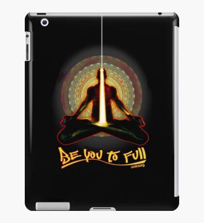 meditator - beyoutofull iPad Case/Skin