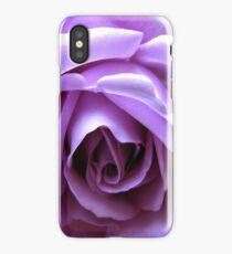The Heart of a Blue Moon Rose  iPhone Case