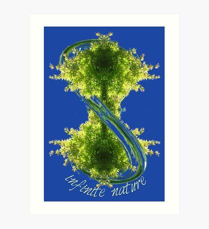 infinite nature Art Print