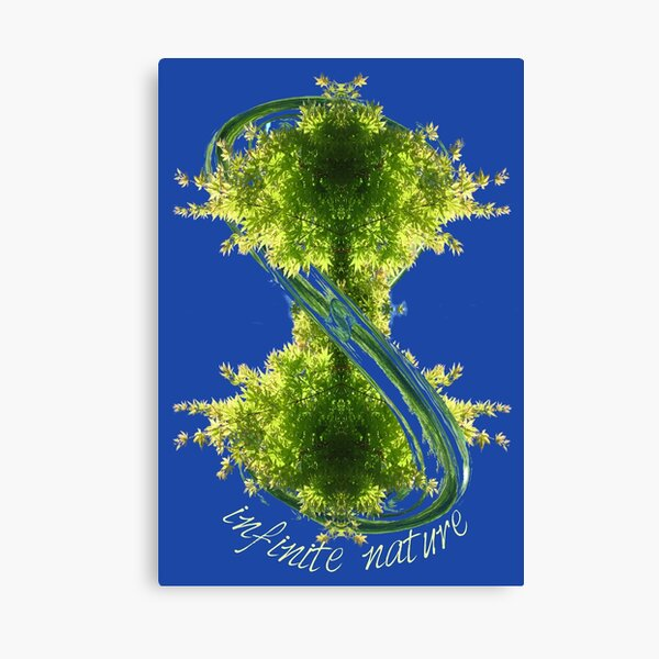 infinite nature Canvas Print