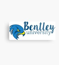 Bentley University Falcons sticker Metal Print