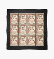 Pepsin-Wein Nineteenth Century German Apothecary Label Scarf