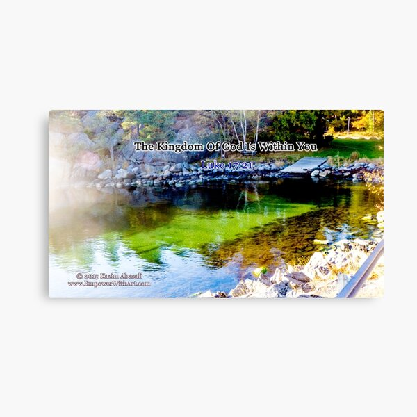 The Kingdom of God Canvas Print