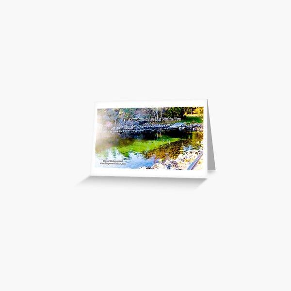 The Kingdom of God Greeting Card