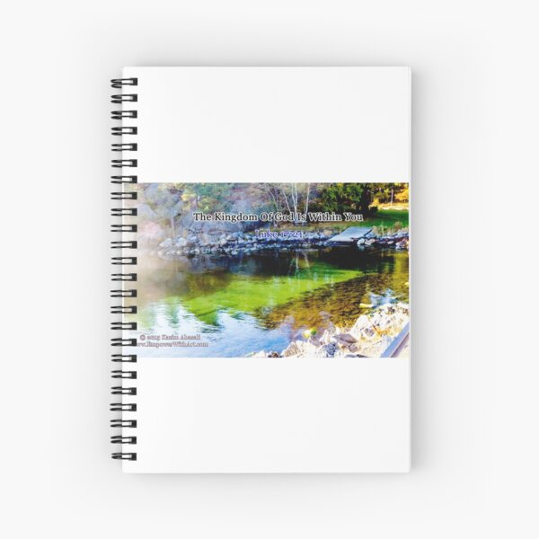 The Kingdom of God Spiral Notebook