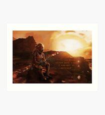 The Martian - Ketchup Art Print