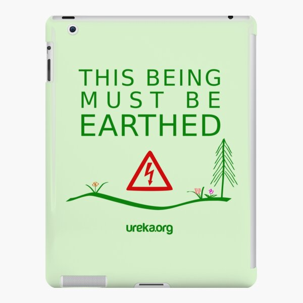 THIS BEING MUST BE EARTHED iPad Snap Case