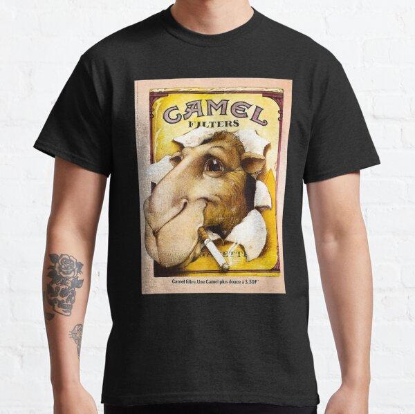Camel-filtres-cigarettes T-shirt classique
