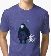 Pixel Ori and Kuro Tri-blend T-Shirt
