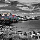 Indian Harbour - selective colour by PhotosByHealy