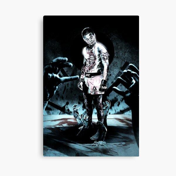Korean Zombie; MMA Canvas Print