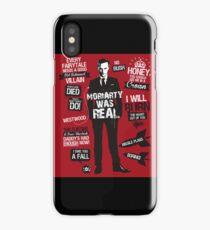 Sherlock, moriarty iPhone Case/Skin