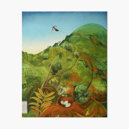 Brett Whiteley- The Green Mountain Art Board Print