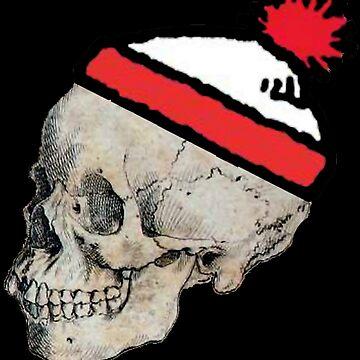 Skulls with Hats - Where's Waldo by Chanash