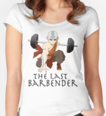 Avatar - The Last Barbender  Women's Fitted Scoop T-Shirt