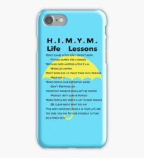 HIMYM Life Lessons iPhone Case/Skin
