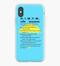 HIMYM Life Lessons iPhone Case