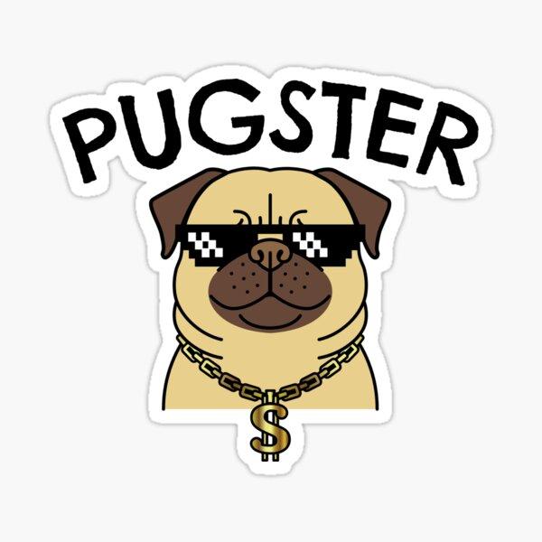 Pugster Sticker