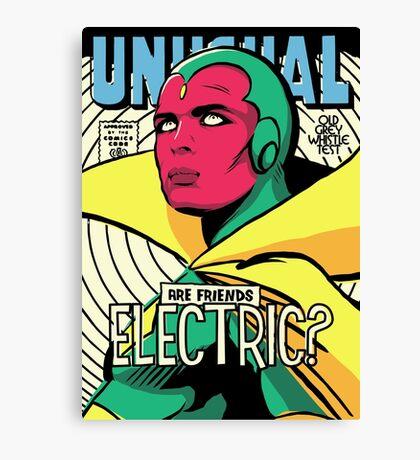 Post-Punk Electric Canvas Print
