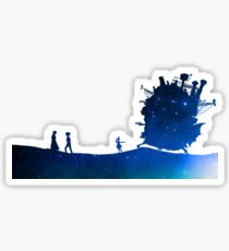 Quiet Feelings - Howl's Moving Castle Sticker