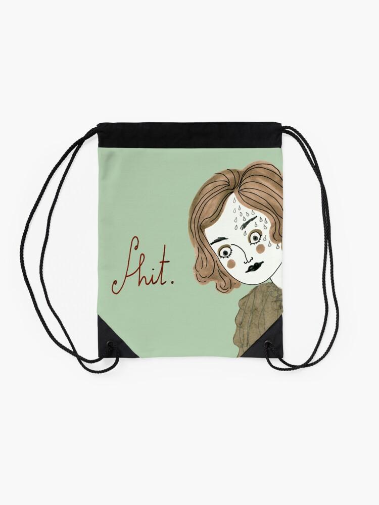 Alternate view of Oh no! Drawstring Bag