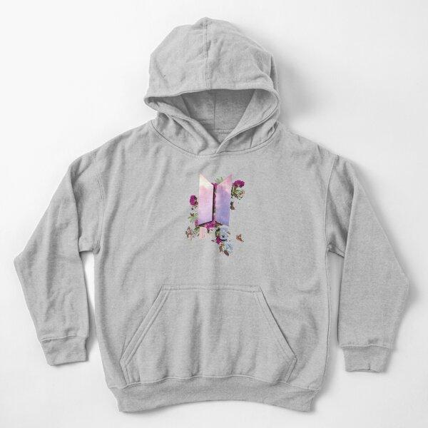 Bts Flower Logo, Bts floral Sudadera con capucha para niños