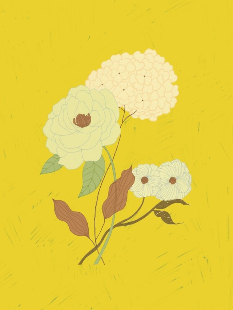 Vintage flowers by spoto