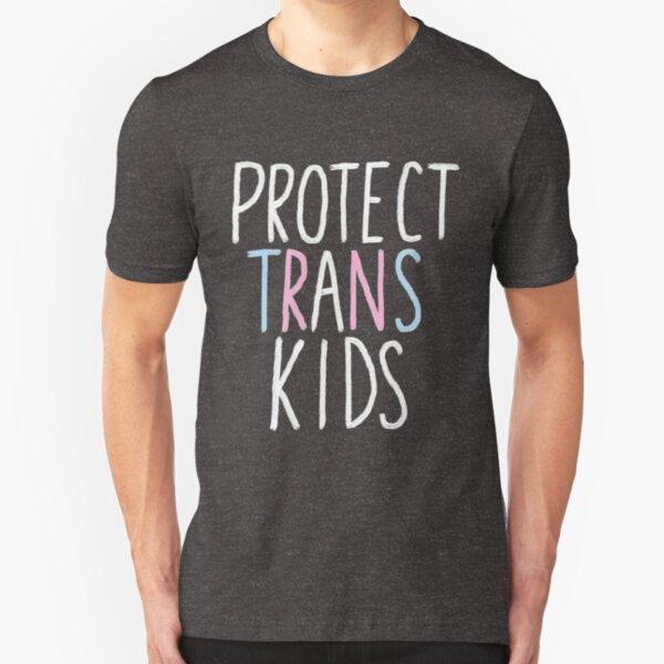 protect trans kids Slim Fit T-Shirt