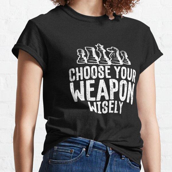 Funny Retro Vintage Chess Ninja Classic T-Shirt