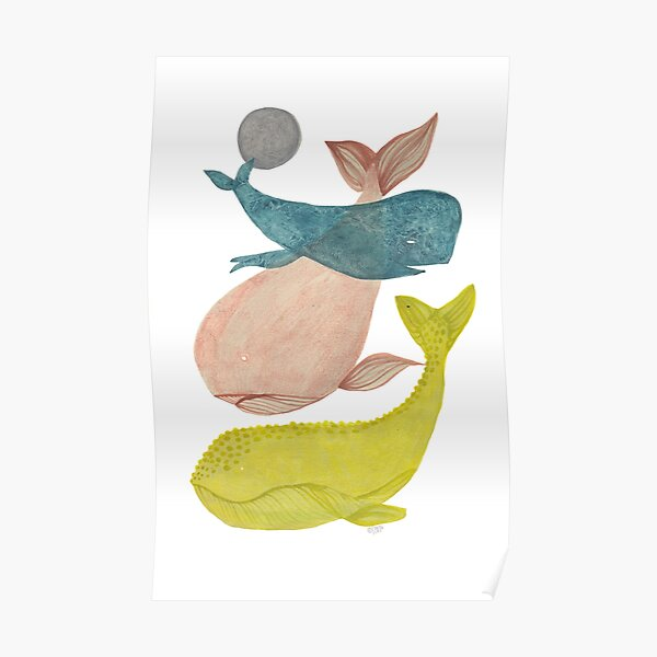it's raining whales II Poster