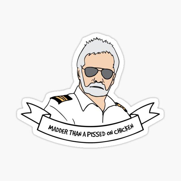 Captain Lee Below Deck Sticker