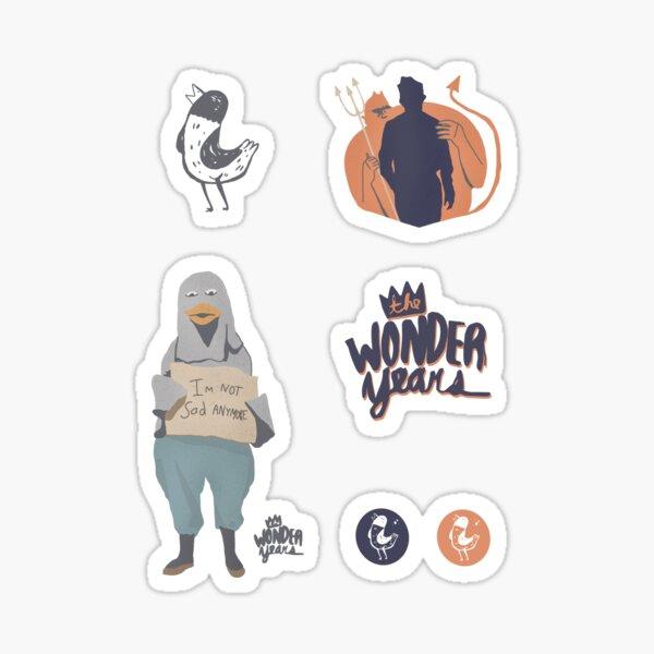The Wonder Years stickerpack Sticker