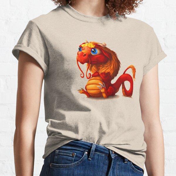 Mürrischer Drache Classic T-Shirt