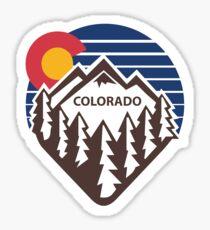 Colorado Throwback Sticker