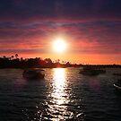 Zambezi River at sunset S.A.  2014 by maureenclark