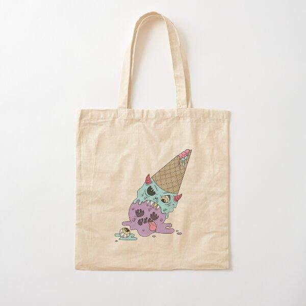 EVIL ICE-CREAM Cotton Tote Bag