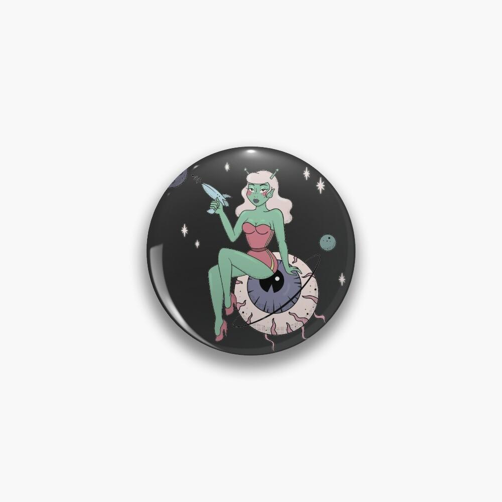 SPACE BABE Pin