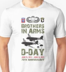 BROTHERS IN ARMS Unisex T-Shirt