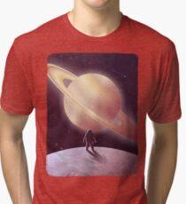 A View From Enceladus Tri-blend T-Shirt