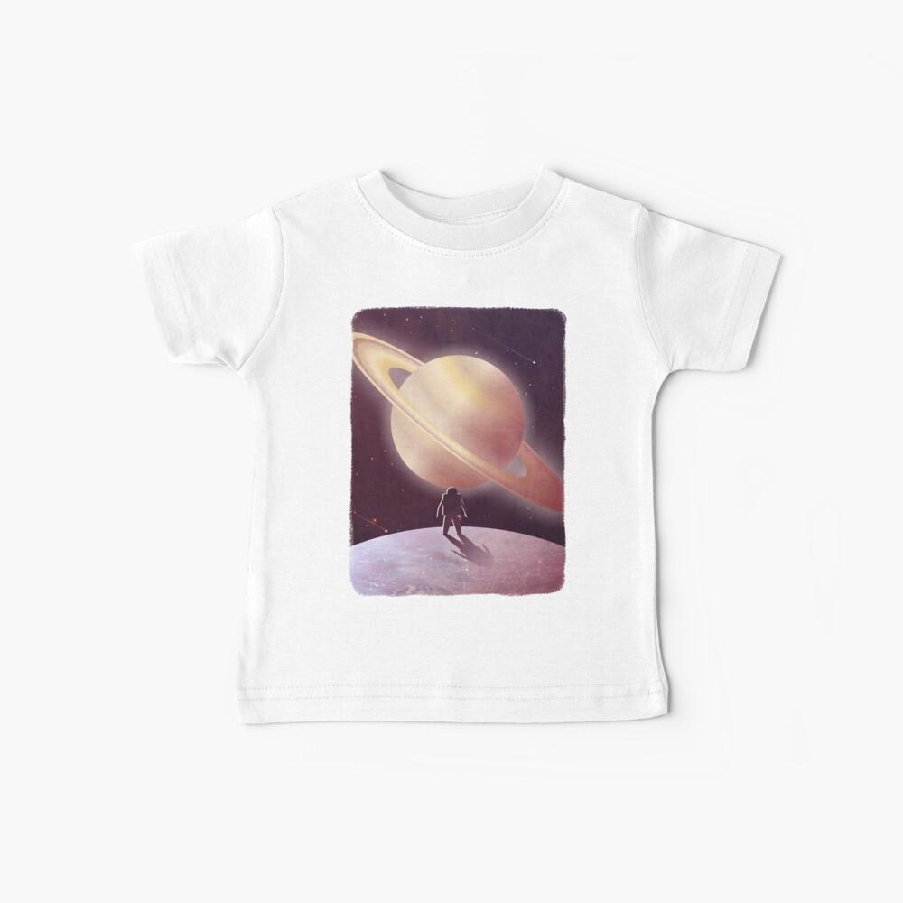 Una vista desde Encelado Camiseta para bebés