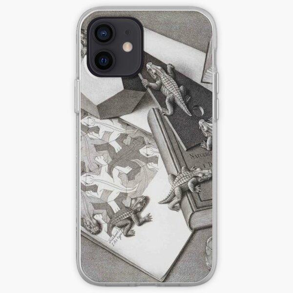 ESCHER Reptiles iPhone Soft Case