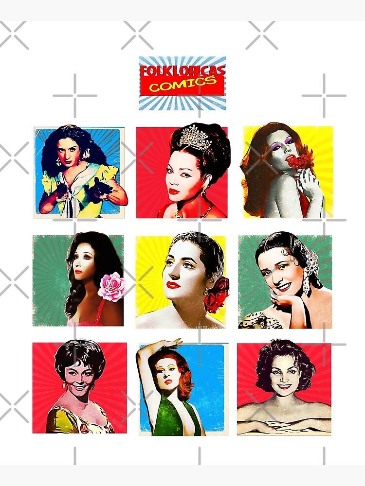 Folkloricas ·Reinas de la copla Vintage Comics de danimota