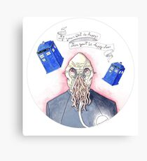 Doctor Who - Ood Canvas Print
