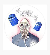 Doctor Who - Ood Photographic Print
