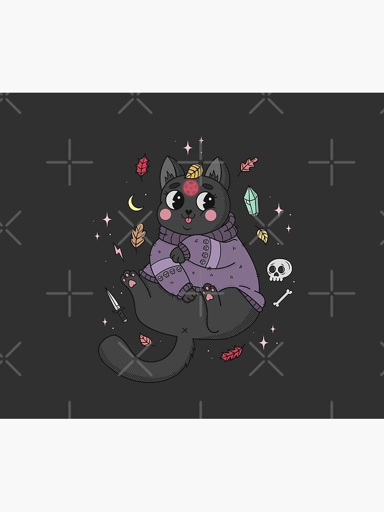 FALL KITTY by xxzbat