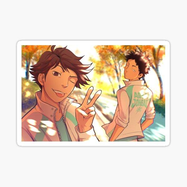Iwaoi Autumn  Sticker