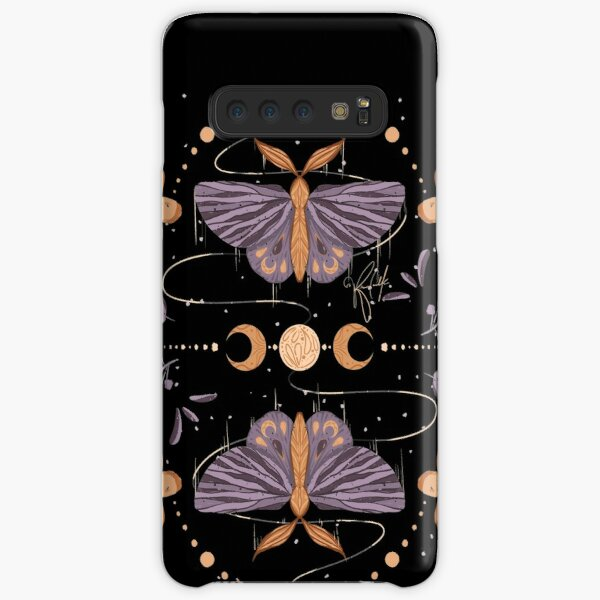 Night Moth Twins - Inktober 2020 Samsung Galaxy Snap Case